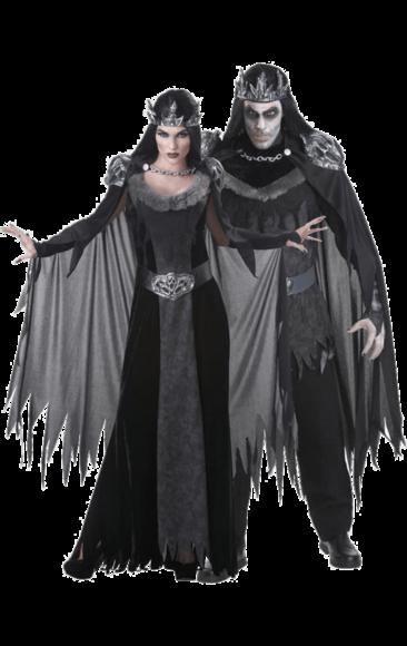 2aaadbe3498 Evil King & Queen Couple Costumes | Halloween ideas | Queen costume ...