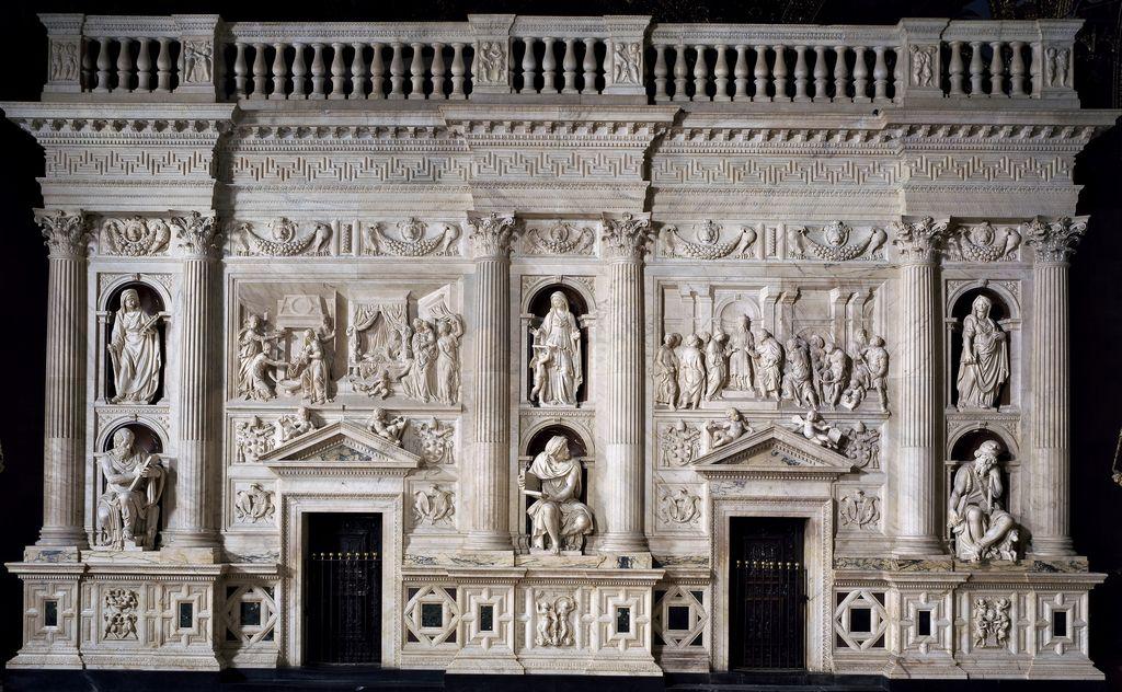 Andrea Contucci, detto Sansovino - Rivestimento marmoreo del sacello della Santa Casa - 1513-1527