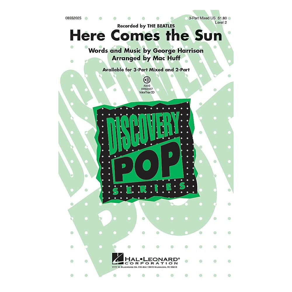 Here Comes The Sun Voicetrax Cd Arranged By Mac Huff In 2018