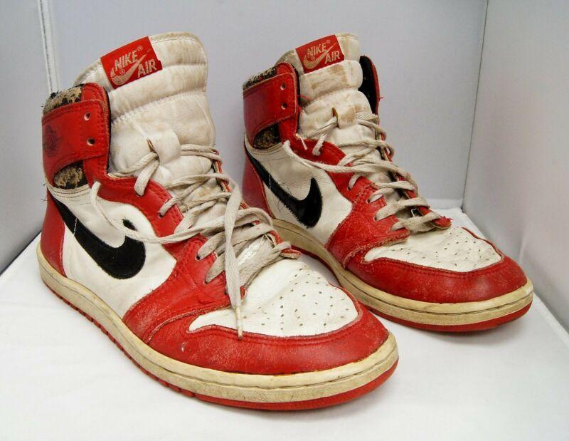 best loved 7d7c1 77408 Nike Air Jordan 1 1985 Banned OG Original Red Black White Size 10.5