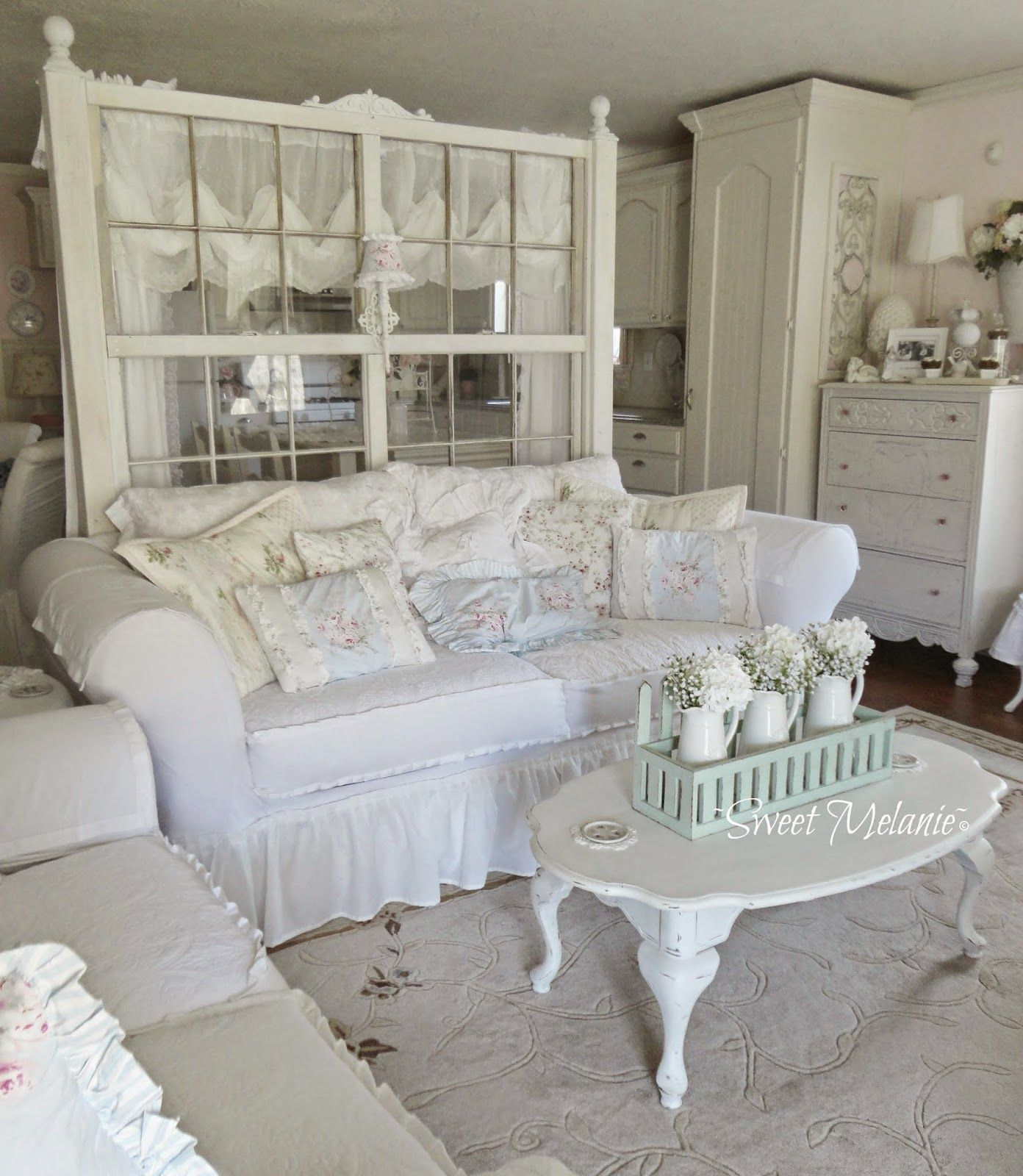March 2015 Shabby Chic Decor Living Room Shabby Chic Living Shabby Chic Living Room #rustic #chic #decor #living #room