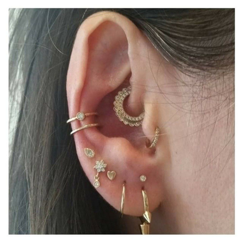 14 Dainty Piercing Ideas for Ears and Body | Teen Vogue