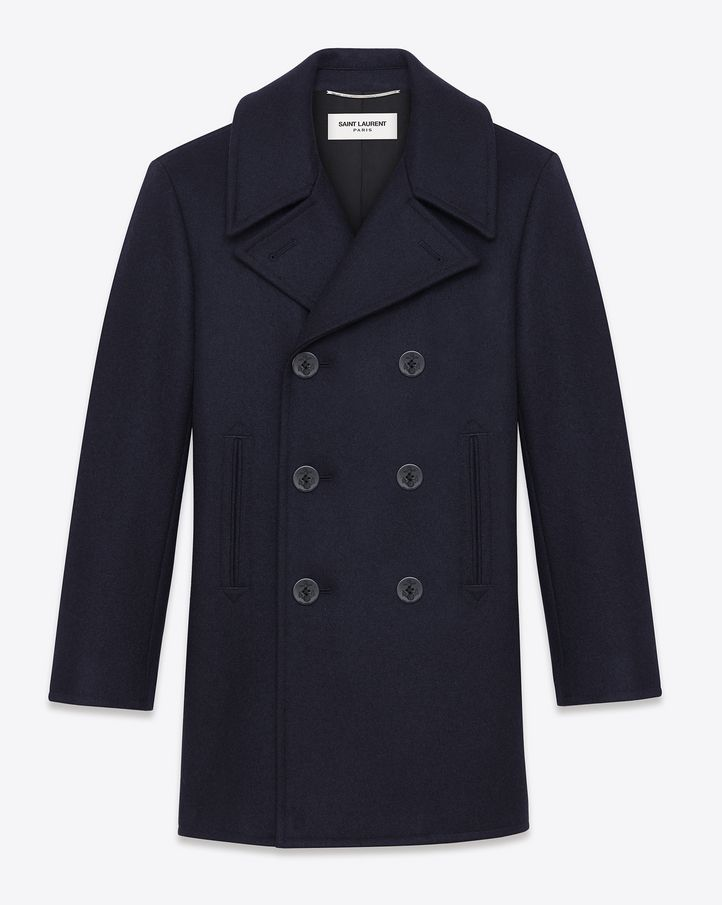 Cappotto uomo yves saint laurent