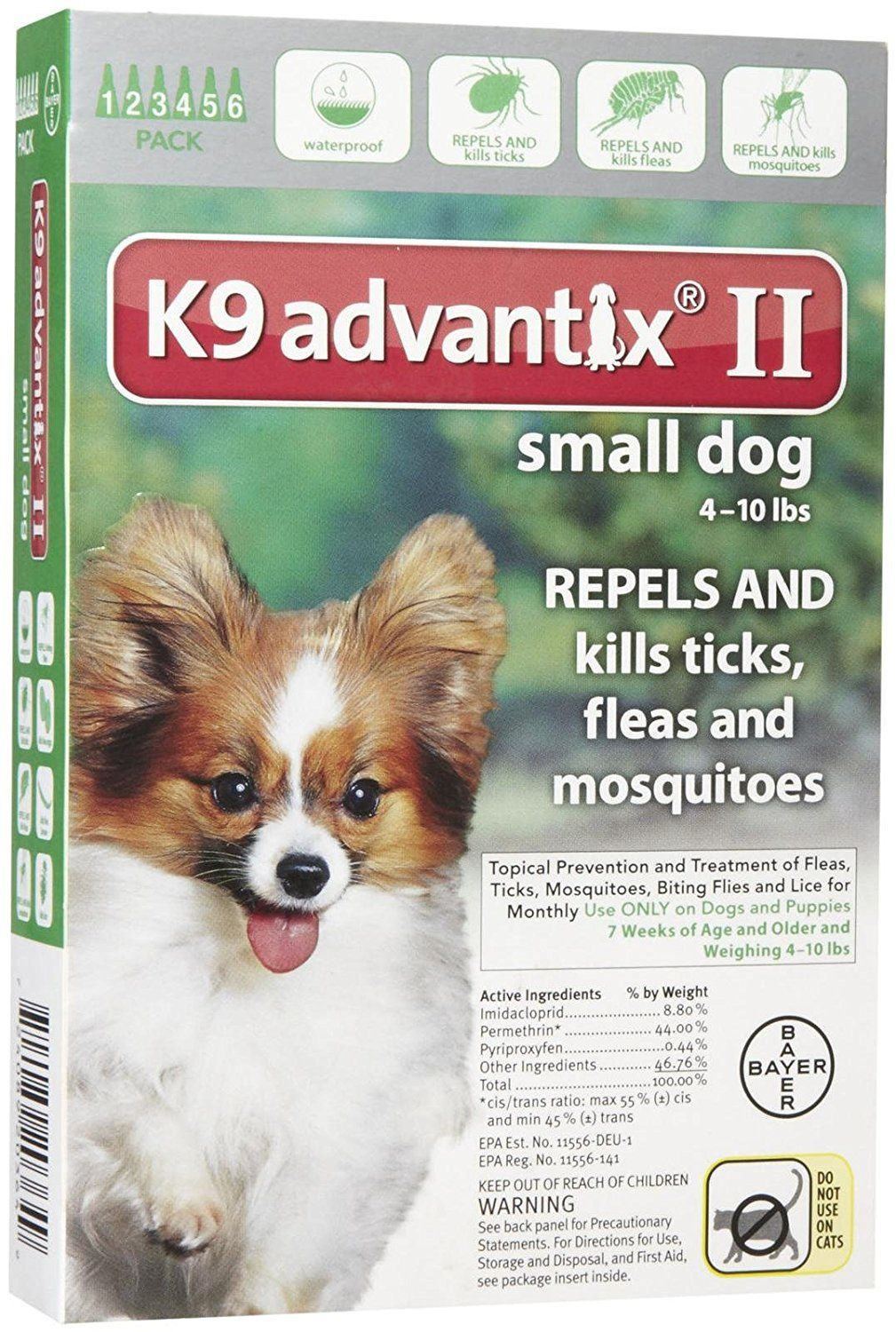 K9 Advantix Ii Small Dog 6 Pack Startling Review Available Here Flea And Tick Control Small Dogs Fleas Flea Tick