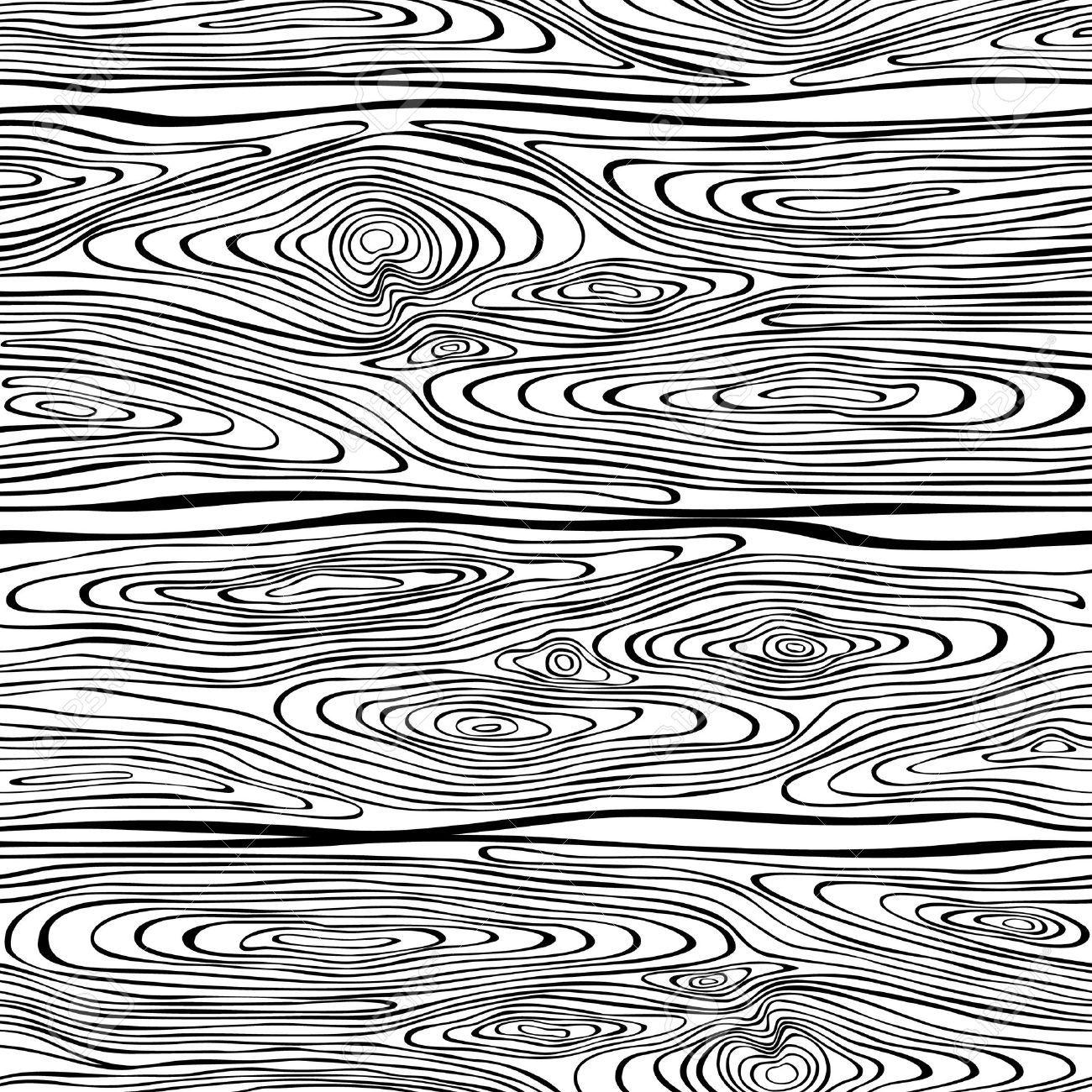 Line Art Wood Grain : Seamless stock vector wood texture g