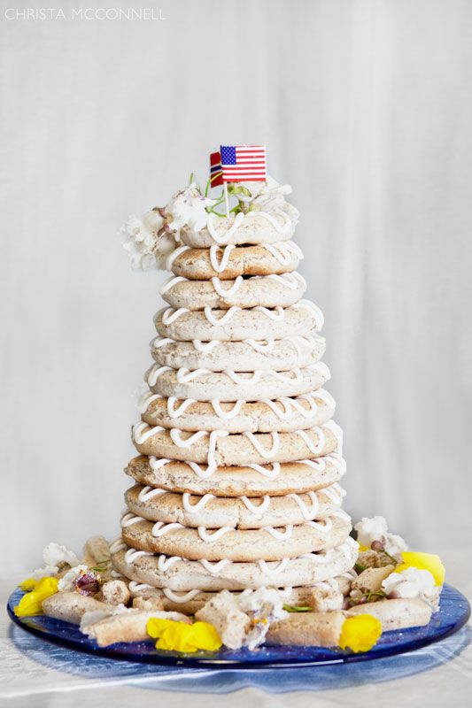 A Norwegian Style Wedding Cake How Cool Is That Christa Mcconnell Photography Indianapolis