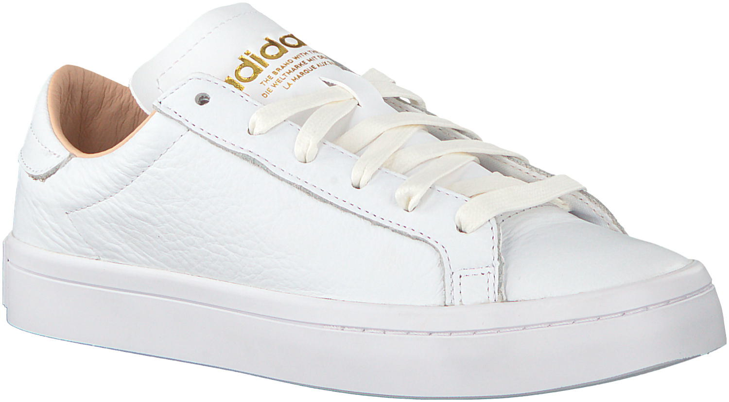88a08f9233e Witte Adidas Sneakers COURT VANTAGE DAMES #Sneakers | Sneakers in ...