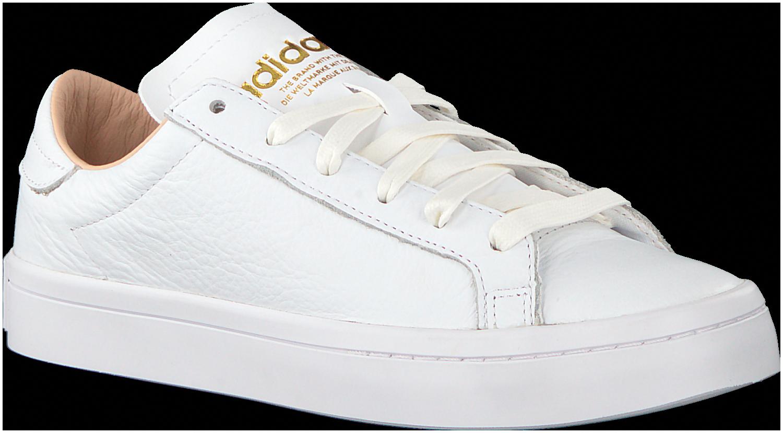 b8b88ef1eda Witte Adidas Sneakers COURT VANTAGE DAMES #Sneakers | Sneakers in ...