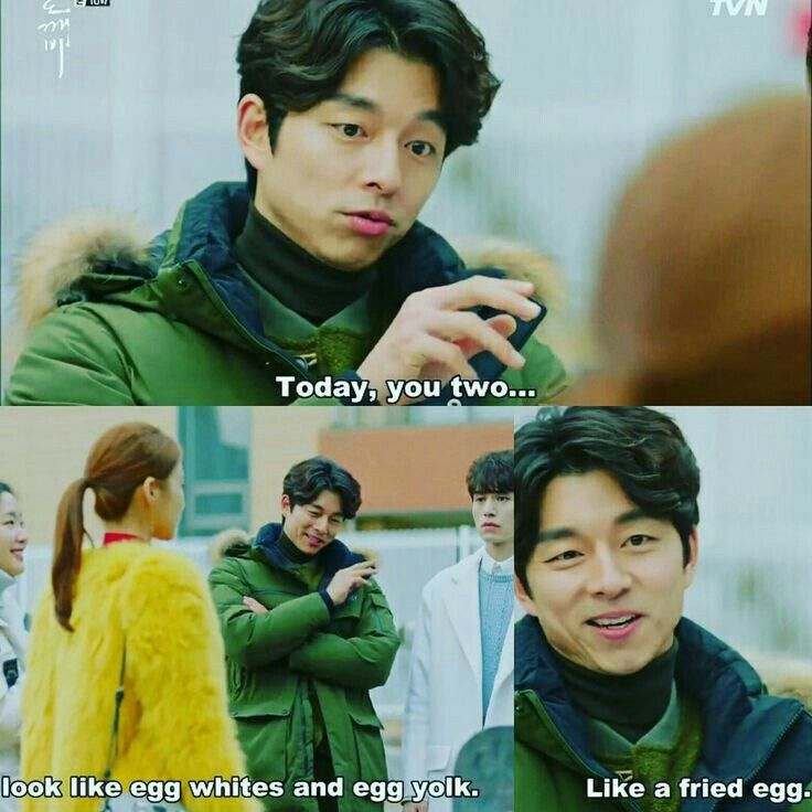 GOBLIN : When GongYoo Try To Help His Friend Get The Girl