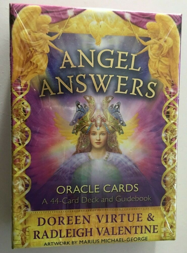 angel tarot cards guide book