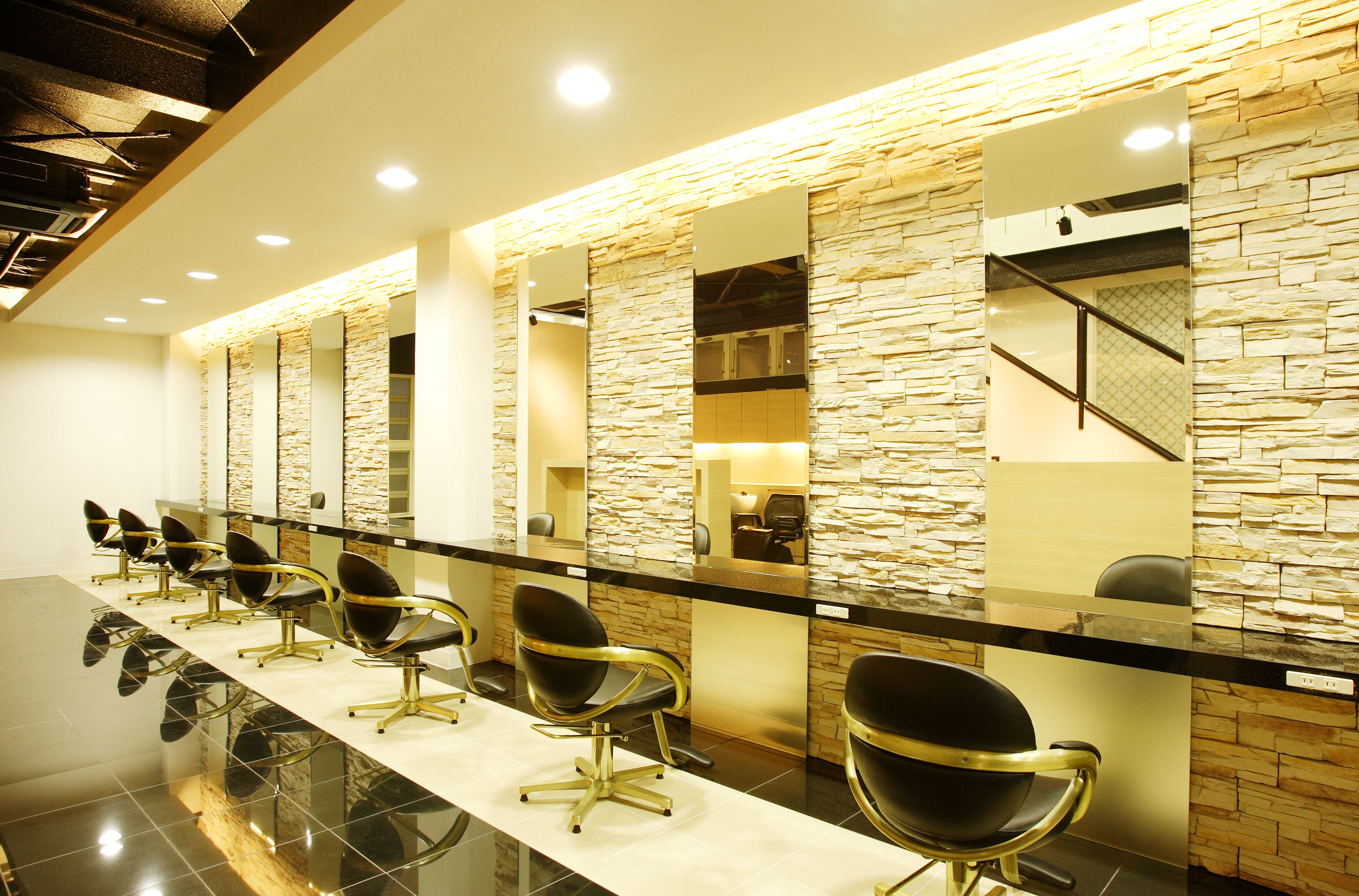 Beauty salon interior design ideas | + hair + space + decor + ...
