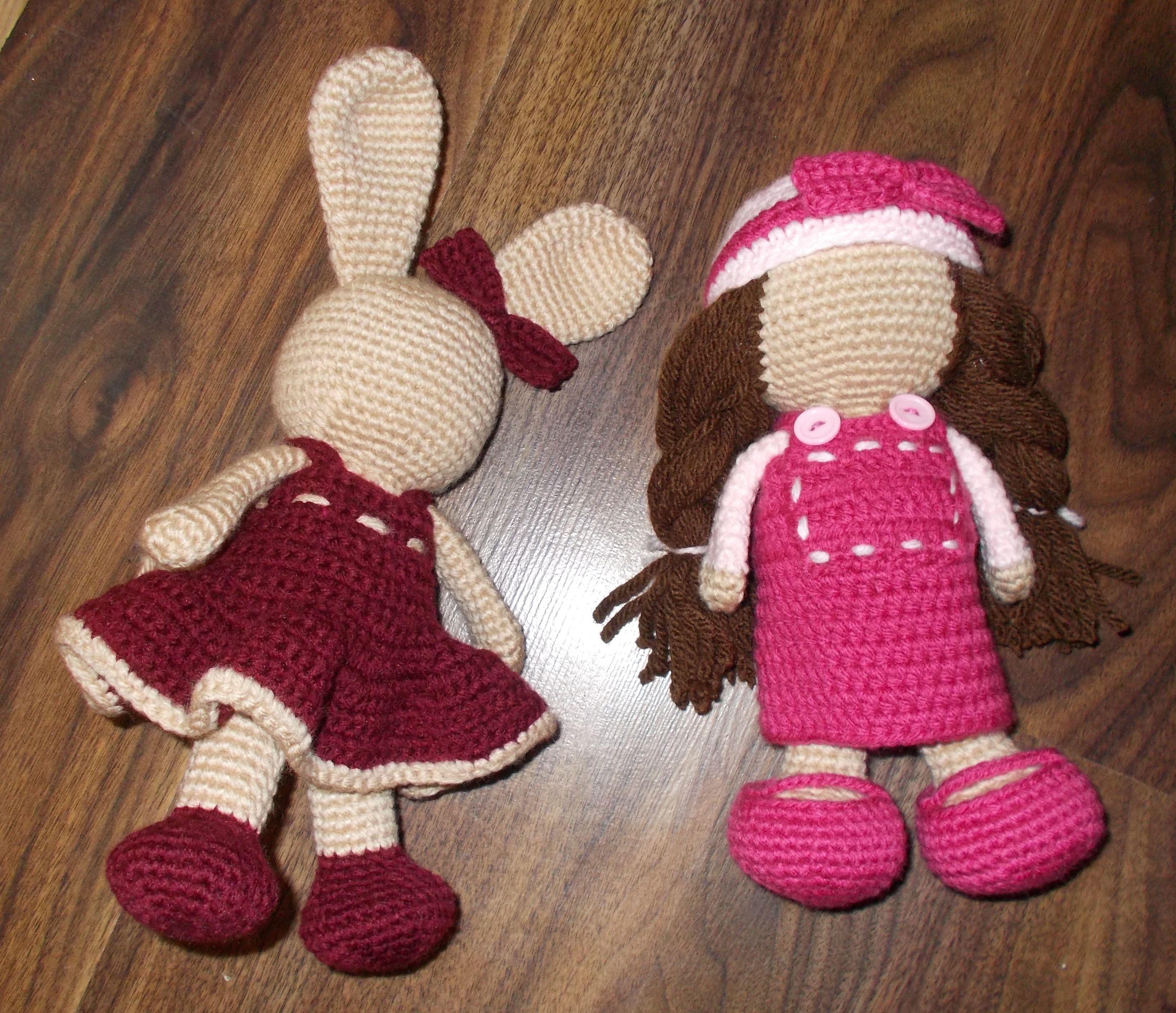 Bunny And Doll Set