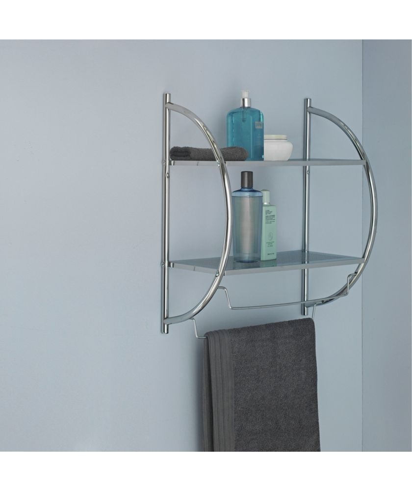 Buy Collection Shelf and Towel Rail - Chrome at Argos.co.uk - Your ...