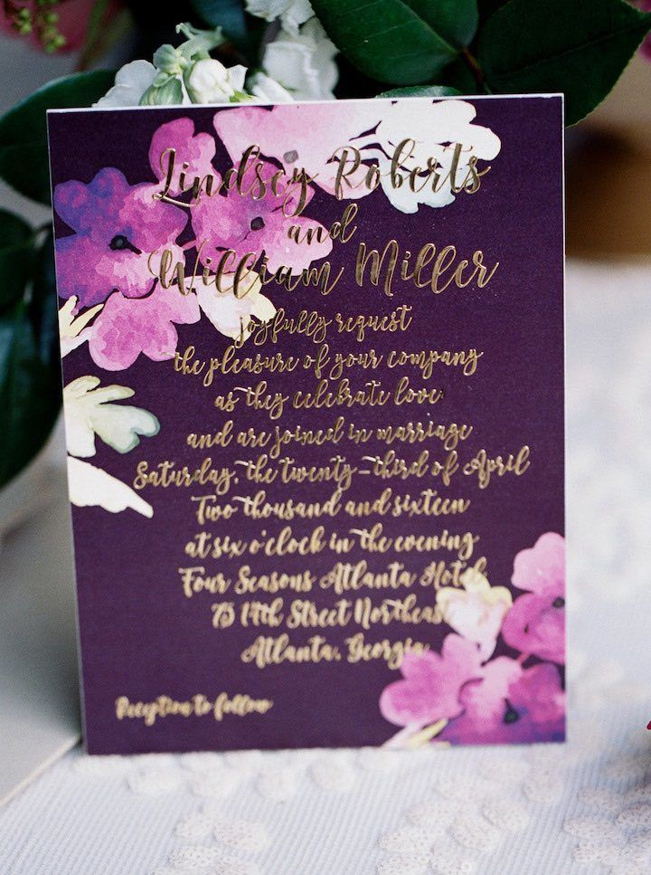 Romantic Secret Garden Wedding Inspiration