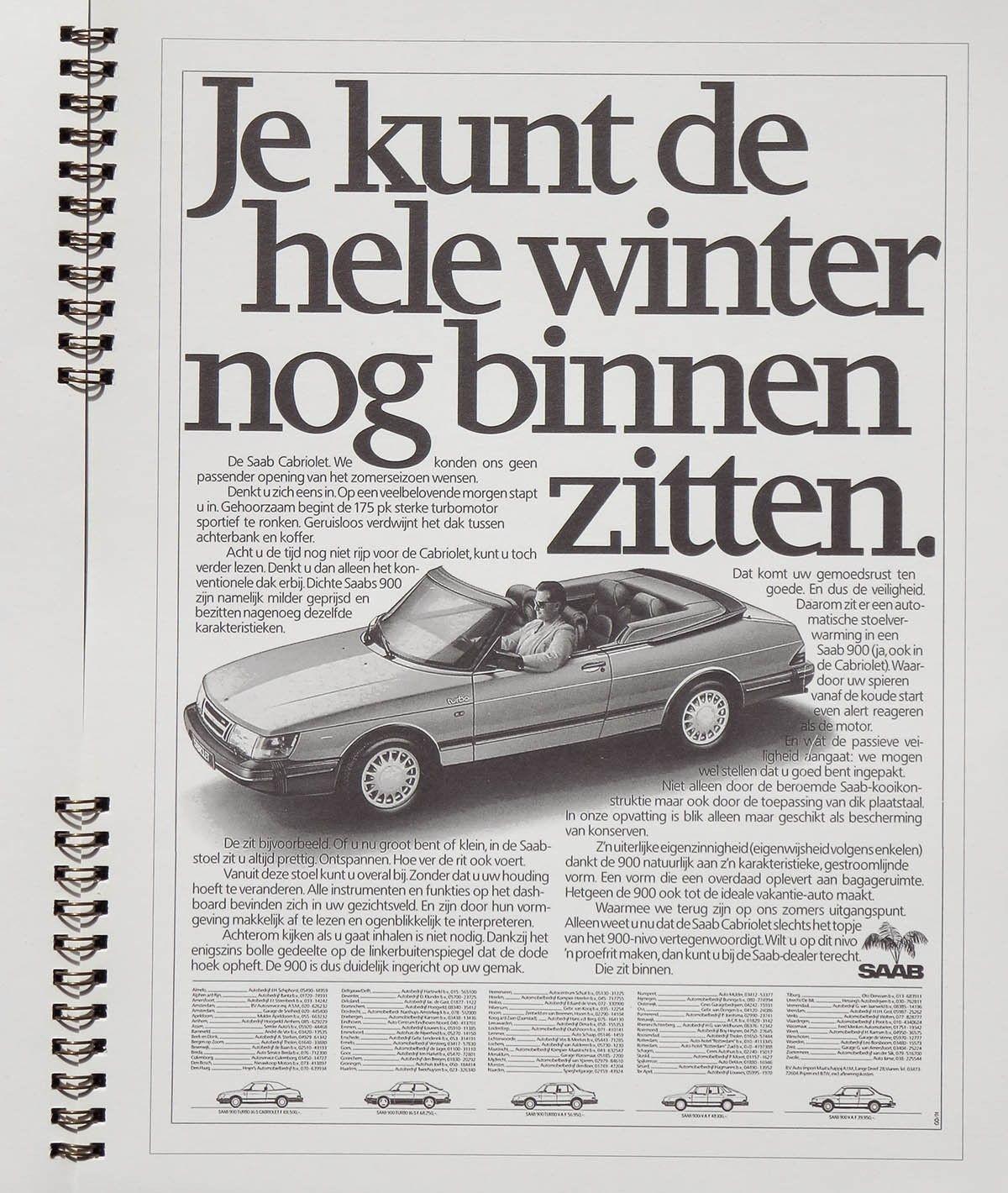 Volvo Cars Motorsport History Reflected At Techno: Pin Van Jan Old Skool Op Saab 900 Classic Turbo
