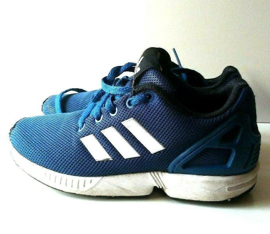 Adidas Originals ZX Flux Torsion Blue Ortholite TRAINERS SIZE ...