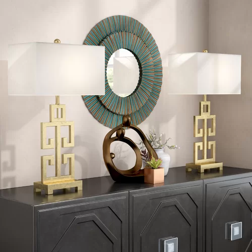 sagebrook home tray table  reviews  wayfair  lamp sets