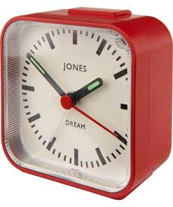 Jones By Newgate Dream Alarm Clock In Red From Argos Clock