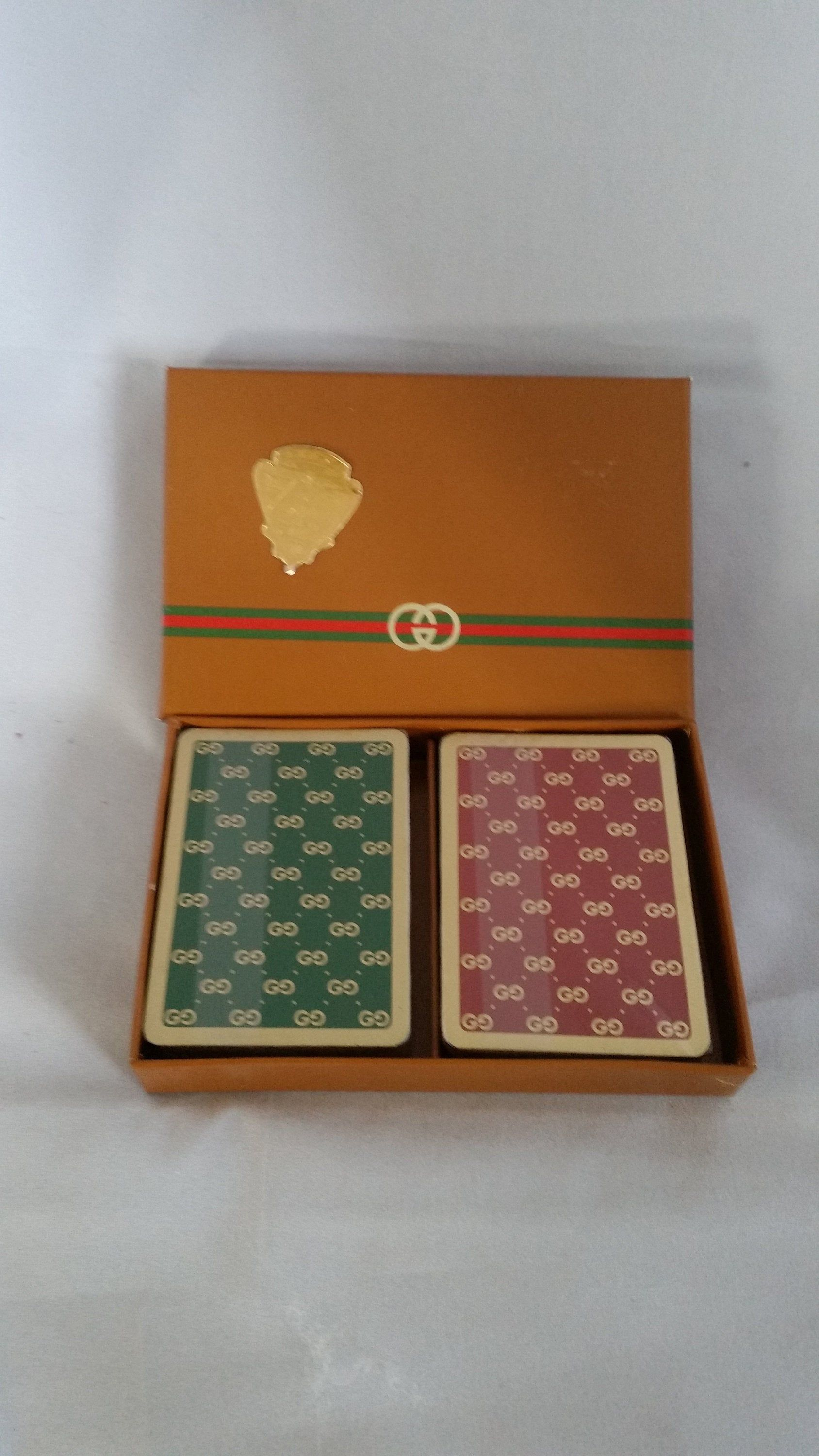 Gucci playing cards etsy deck of cards vintage