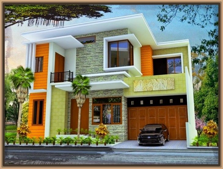 Ver colores de fachadas de casas casas pinterest for Las casas modernas