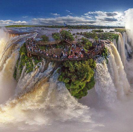 Fotos panorámicas: las Cataratas del Iguazú como nunca las viste
