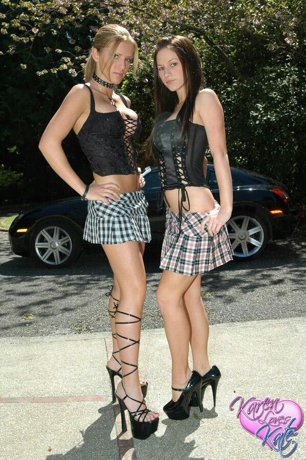 Karen and Kate | Mini skirts, Girls together, Karen dreams