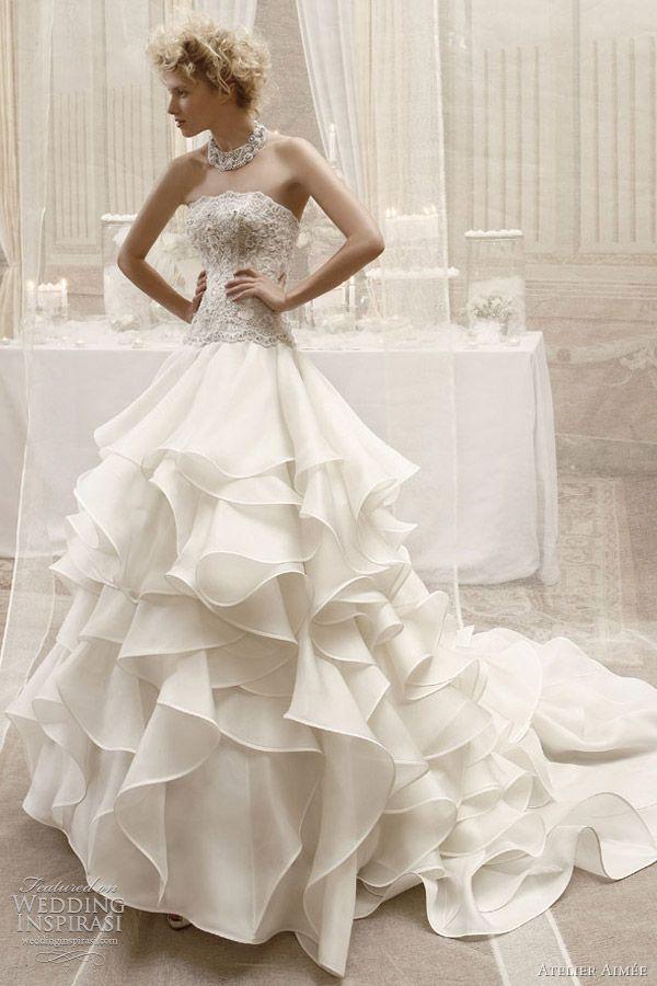 atelier aimée wedding dresses — juliet & romeo bridal collection