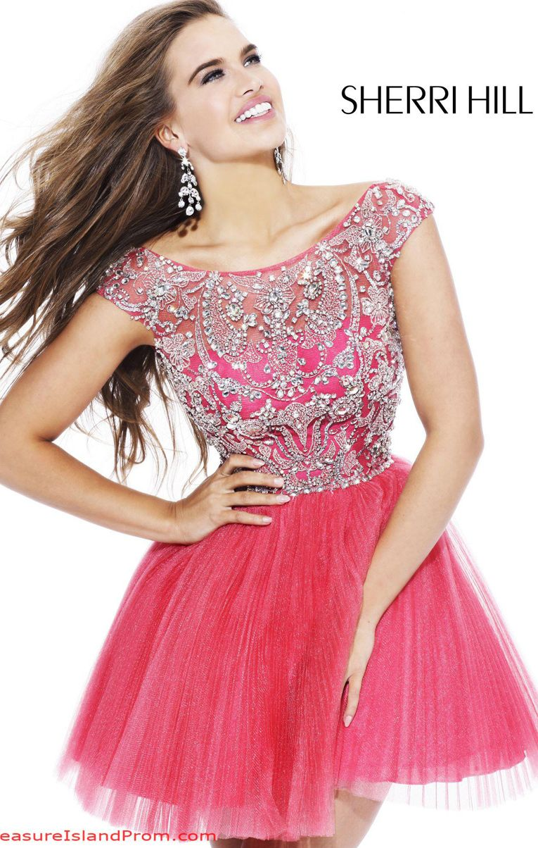 PROM AND EVENING - Sherri Hill 2814 | Dresses | Pinterest | 15 años ...