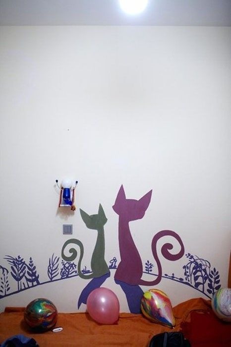 Make it pleasant with wallpapers and embossed designs.
