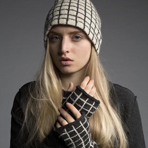 Shibui hat & mittens fall/winter pattern!