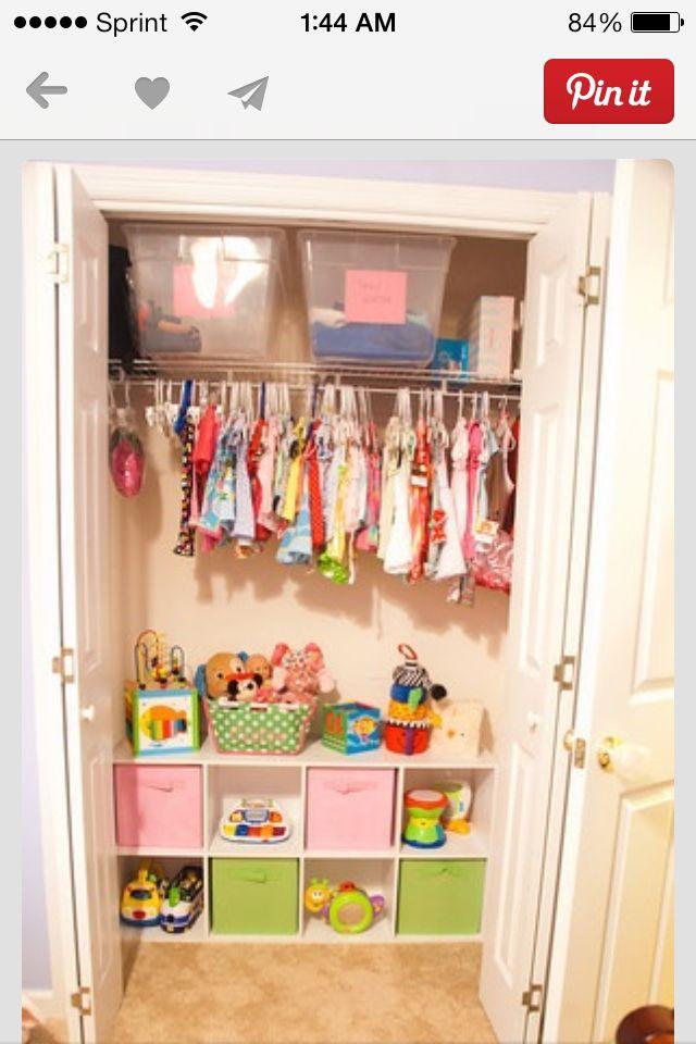 Closet nursery closet pinterest cuarto ni a muebles - Muebles para cuarto de nina ...