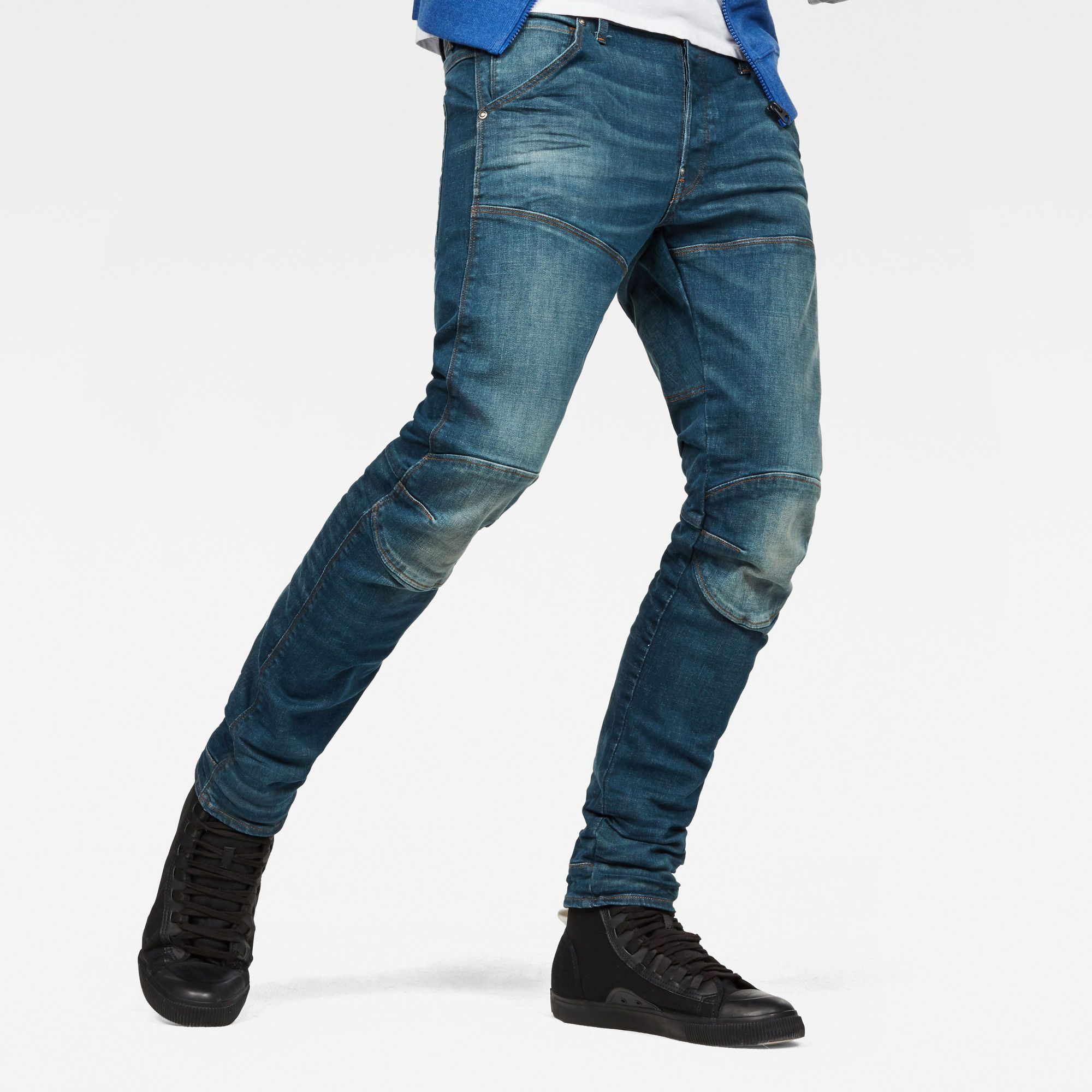 5620 3D Slim Jeans | Ripped jeans men, Slim jeans, Raw jeans