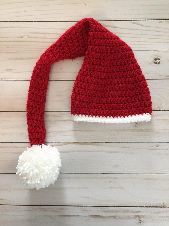 ab4b51e4574a5 Newborn Santa Hat