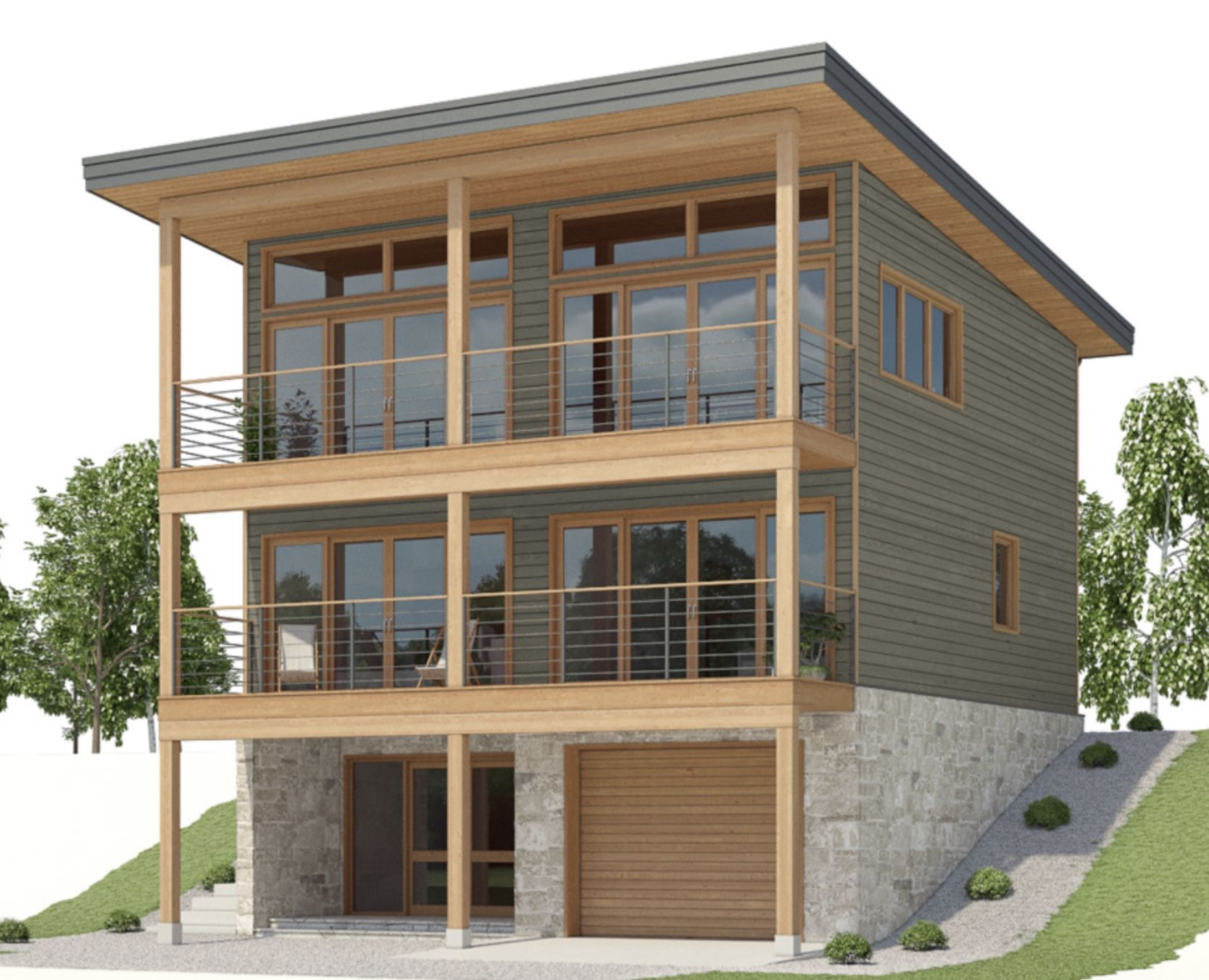 Pin By Linda Rockwell Peterson On Floor Plans In 2020 Carriage House Plans Sloping Lot House Plan House On Stilts