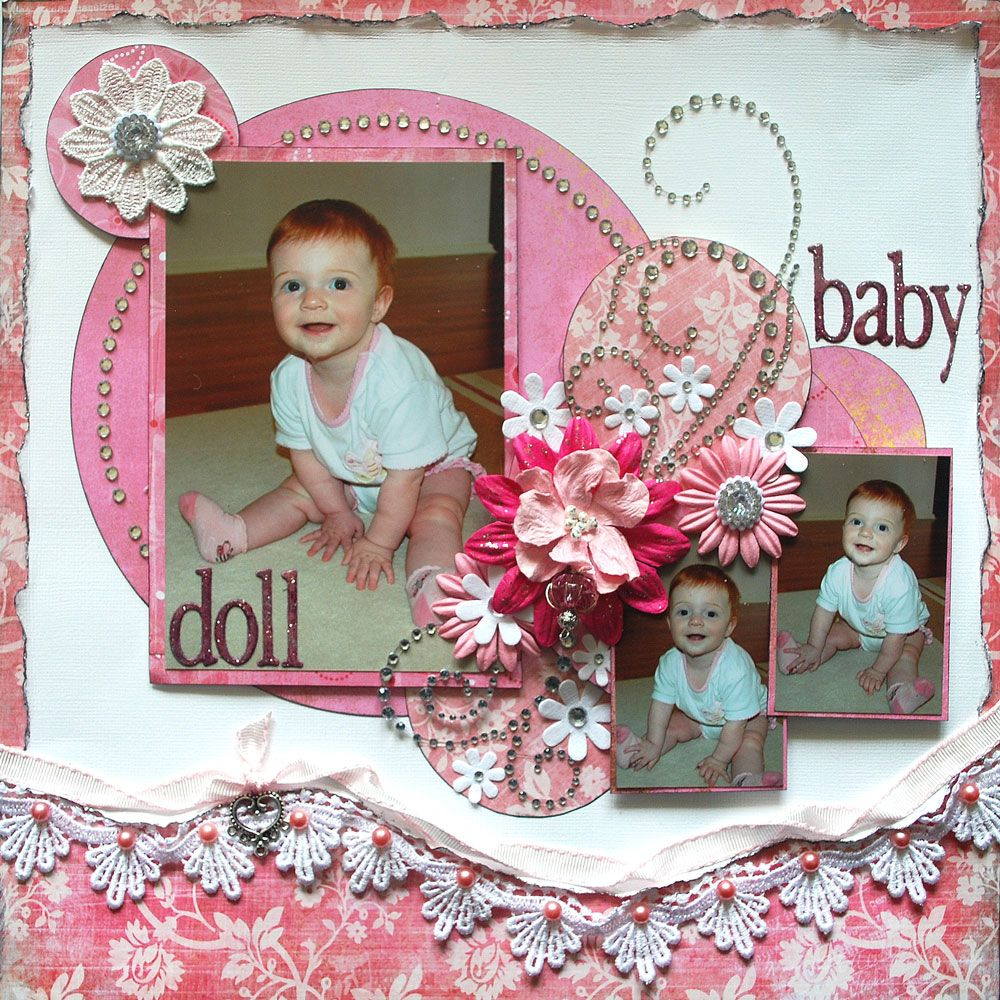"""""""Baby Doll"""" Layout by Nic'sNook"""