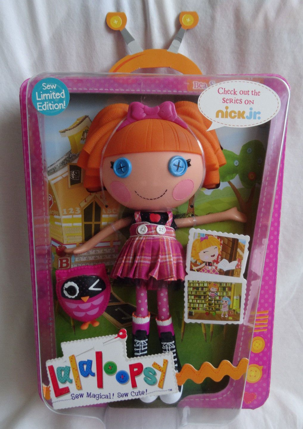 Lalaloopsy Limited Edition Sew Cute Doll Bea Spells-a-Lot New