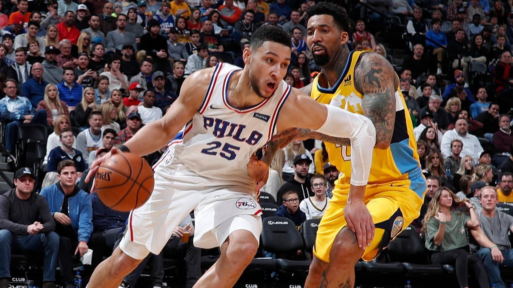 Balanced 76ers edge Nuggets ESPN Video Espn, Sports