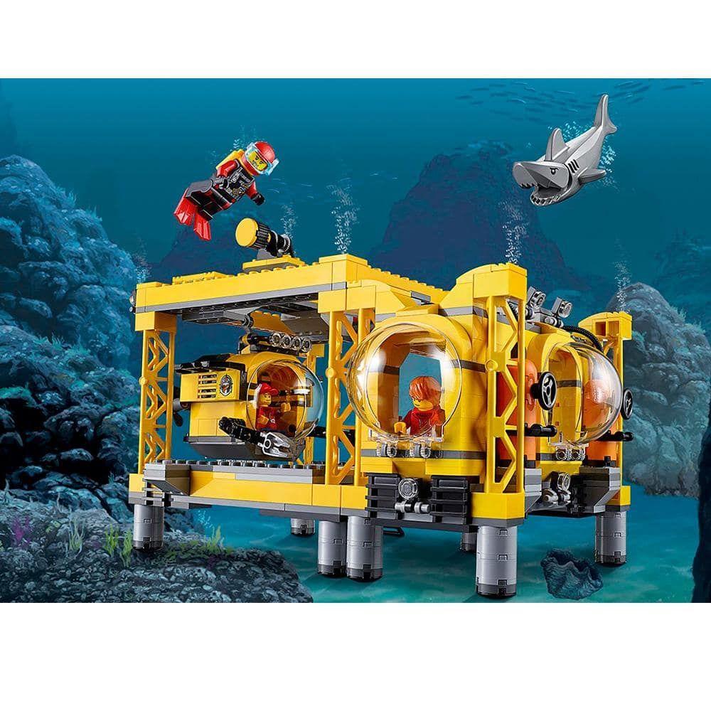 Lepin 02088 Deep Sea Exploration Base City Lego Design Lego City Lego Activities
