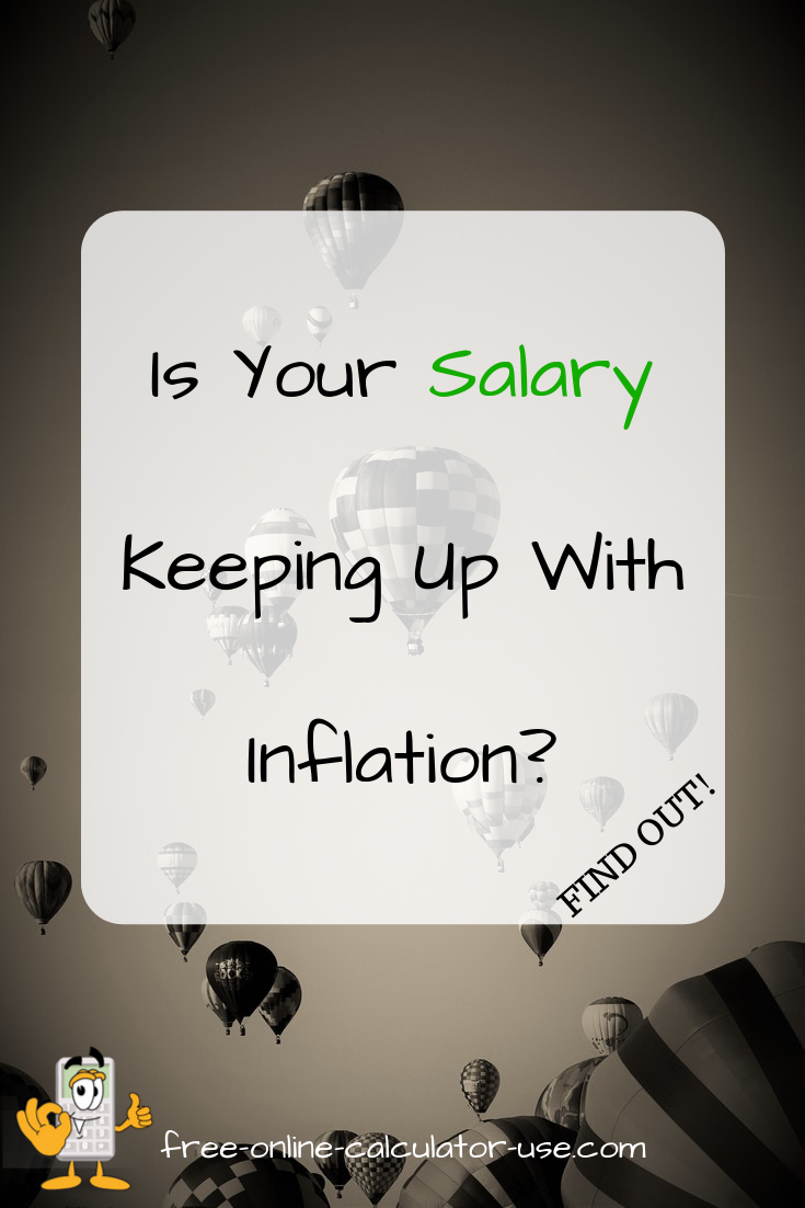 Inflation Calculator To Calculate Raise