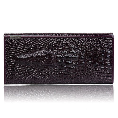 New Arrival Alligator Pattern Design Women Wallets High Quality Genuine Leather Money Bag Lady Clutch Coin Purse Card Holder