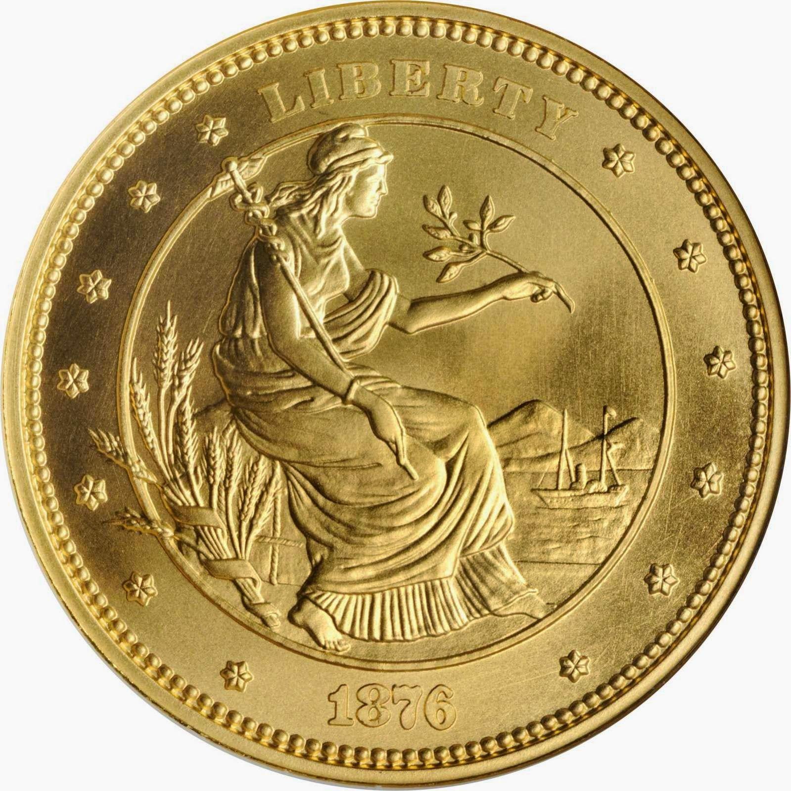 George T Morgan 100 Gold Union Proposed Design