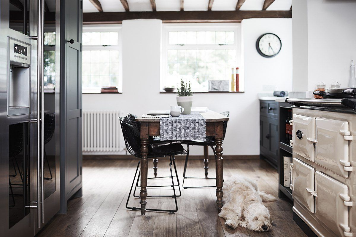 Best Professional UK Interior: Thatched Cottage Kitchen by Fawn ...