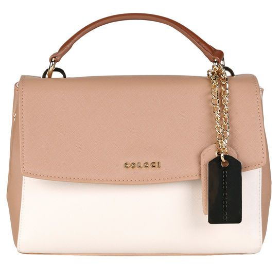 c98cb95fa Bolsa Colcci Doctor Alça Dupla - Off White+Bege | All About the BAG ...