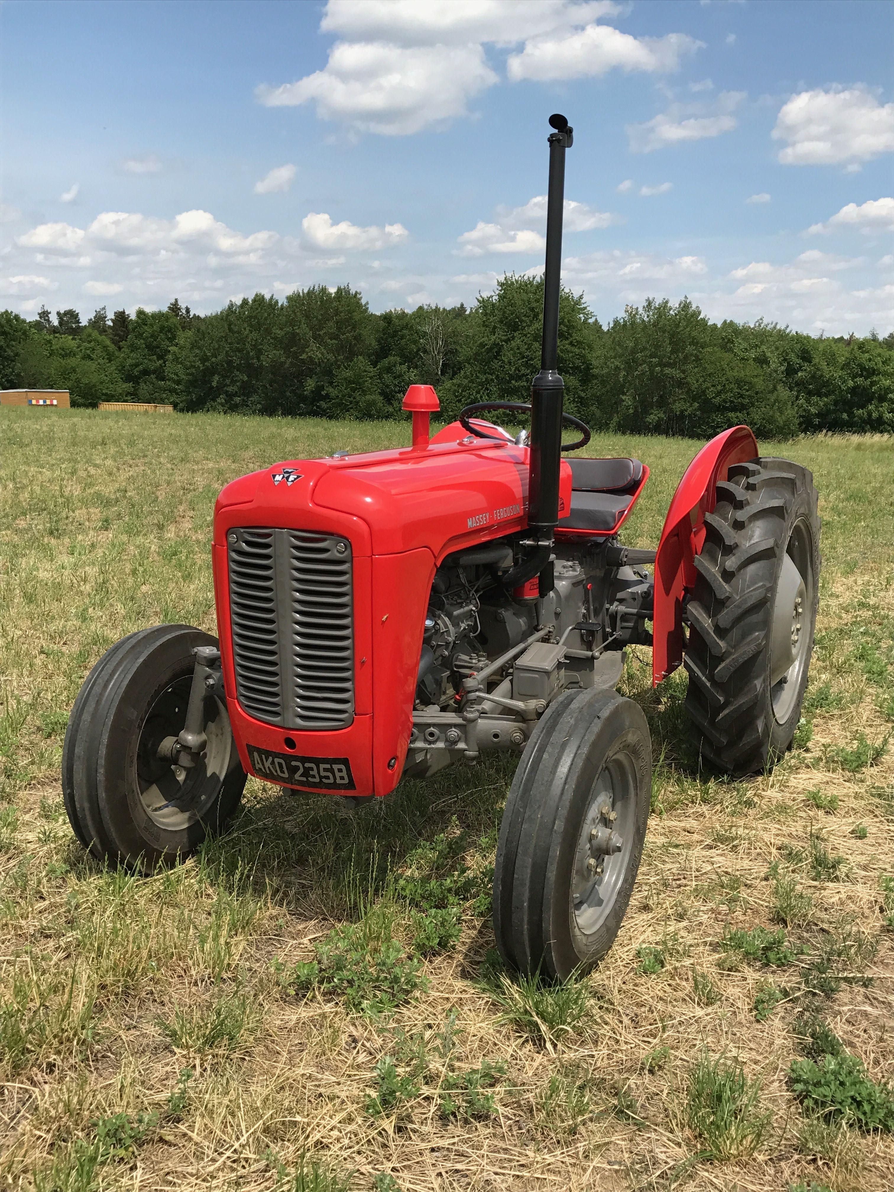 Old Tractors For Sale : tractors, MASSEY, FERGUSON., Tractor., Tractors,, Vintage, Tractors