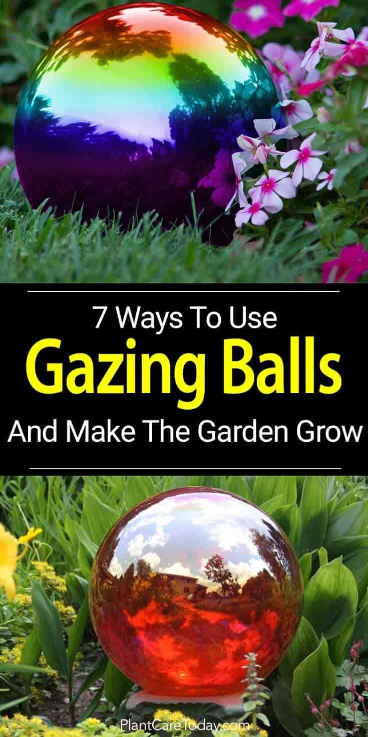 7 Ways To Use Gazing Balls And Make Your Garden Grow