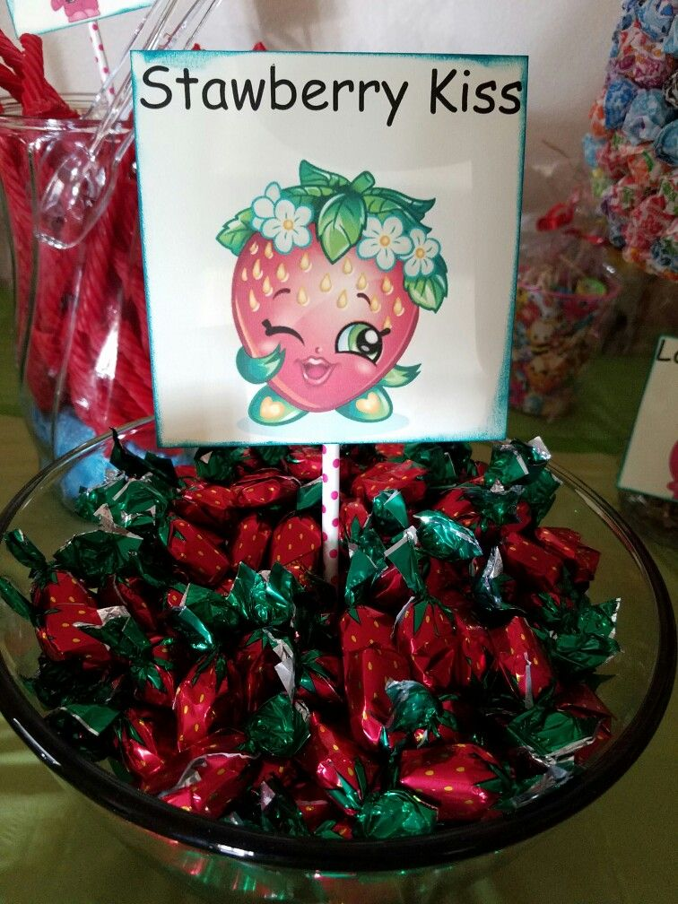 Strawberry kiss (hard candy)