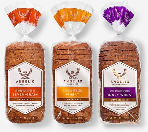 Angelic Bakehouse Sprouted Bread Packaging: Sprouted Seven ...