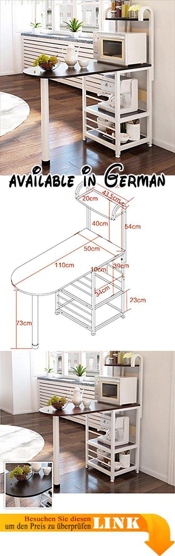 B078WR2T4V : L&Y Kitchen furniture Kreative Küche Regal ...