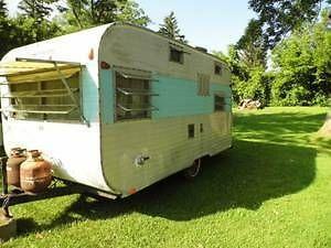 1970 Go Tag Along Vintage Camper Travel Trailer Vintage Trailers