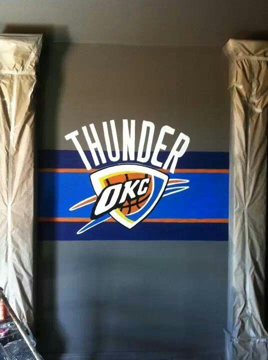 Attractive Ok Thunder Wall Paint #BrushFire On FB
